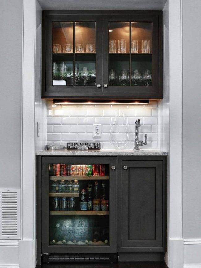 The rhythm of the home reimagine the rhythm of your home - Small wet bar ideas ...
