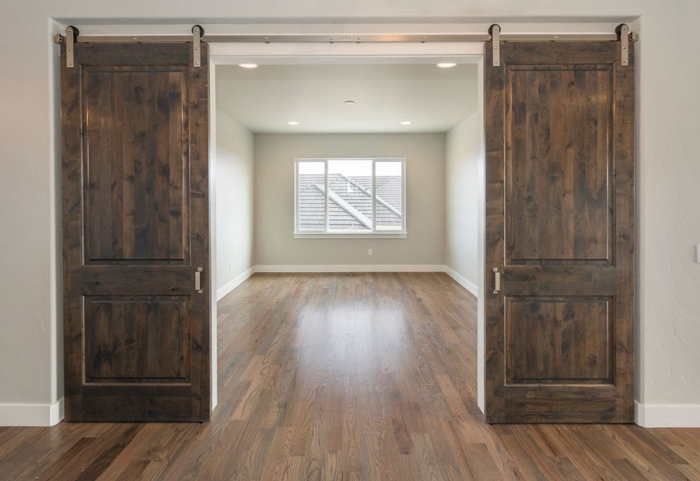 The Support System Of This Type Door Represents Another Important Advantage Sliding Barn Doors Can Be Quite Heavy But You Won T Have To Worry About