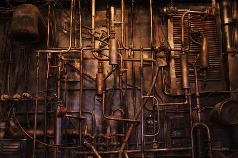 12 Steampunk Decor Ideas Rhythm Of The Home