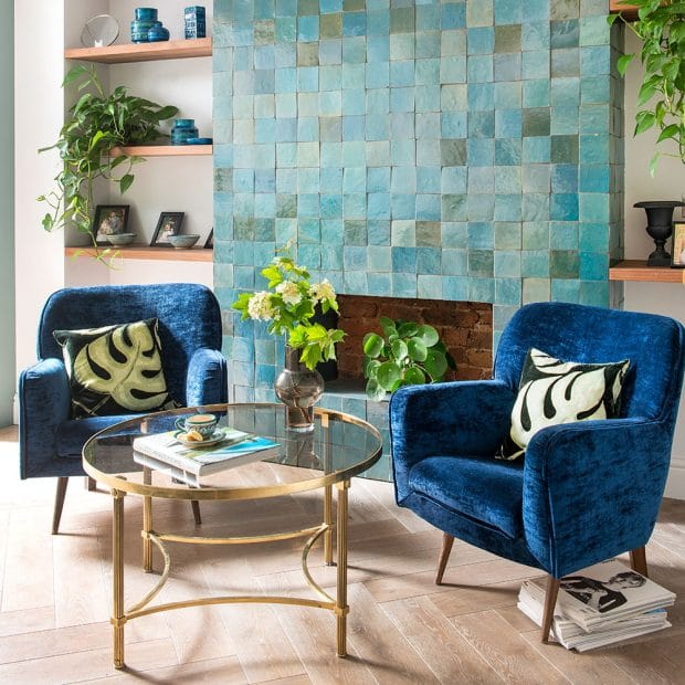Great Small Living Room Designs By Colin Justin: 31 Stunning Blue Living Room Ideas