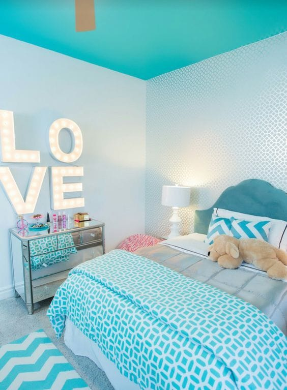 44 Superb Turquoise Room Ideas - Rhythm of the Home