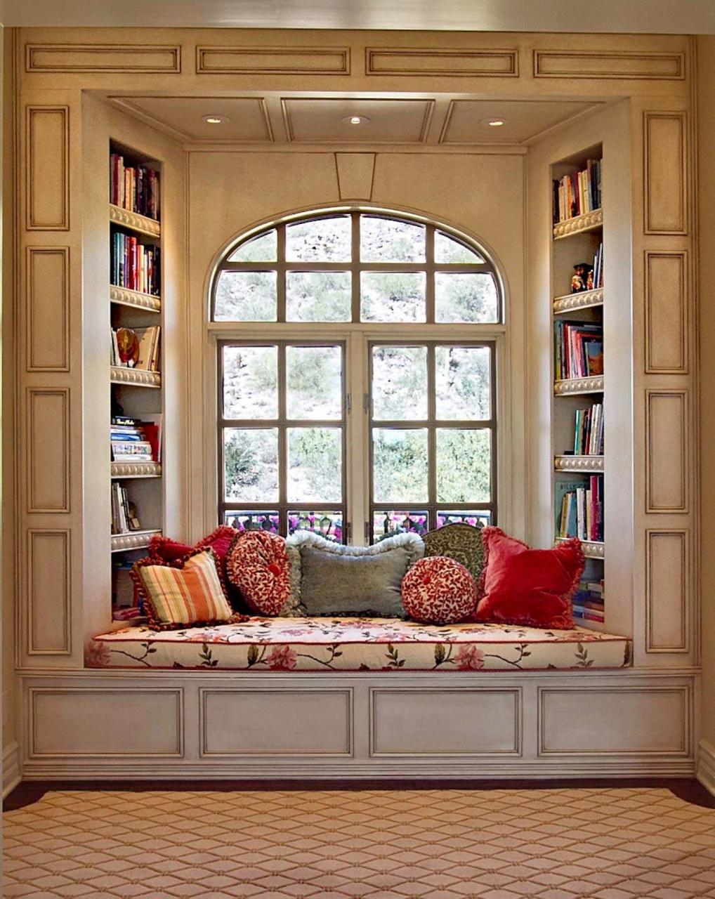 When Designing A Home Library It S Important To Take Into Account Including Place Where You Can Lounge Around And Read In Peace