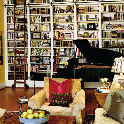 16 Gorgeous Home Library Ideas Rhythm Of The Home