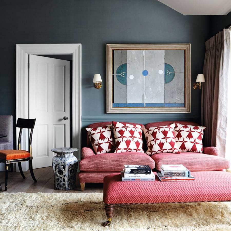 31 Stunning Blue Living Room Ideas - Rhythm of the Home