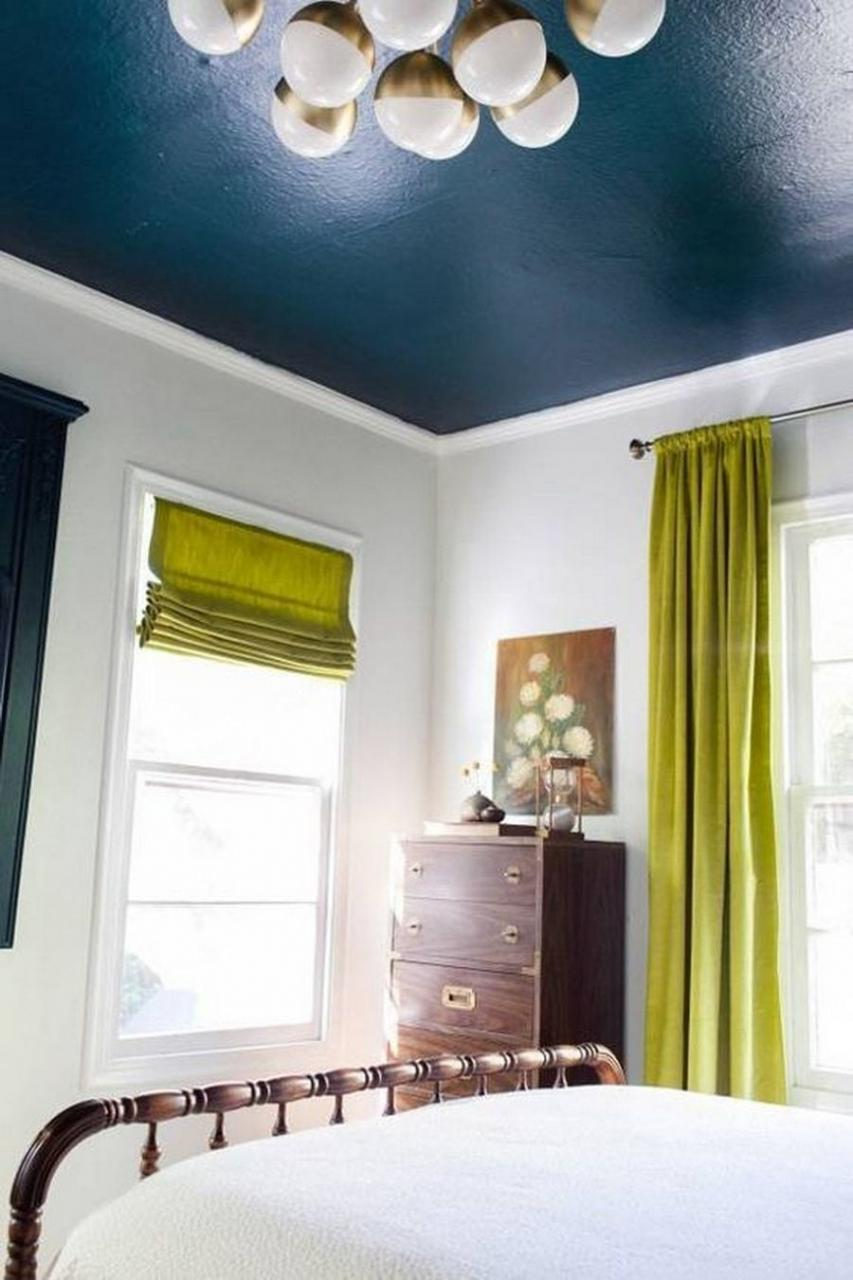 10 Amazing Painted Ceiling Ideas Rhythm Of The Home