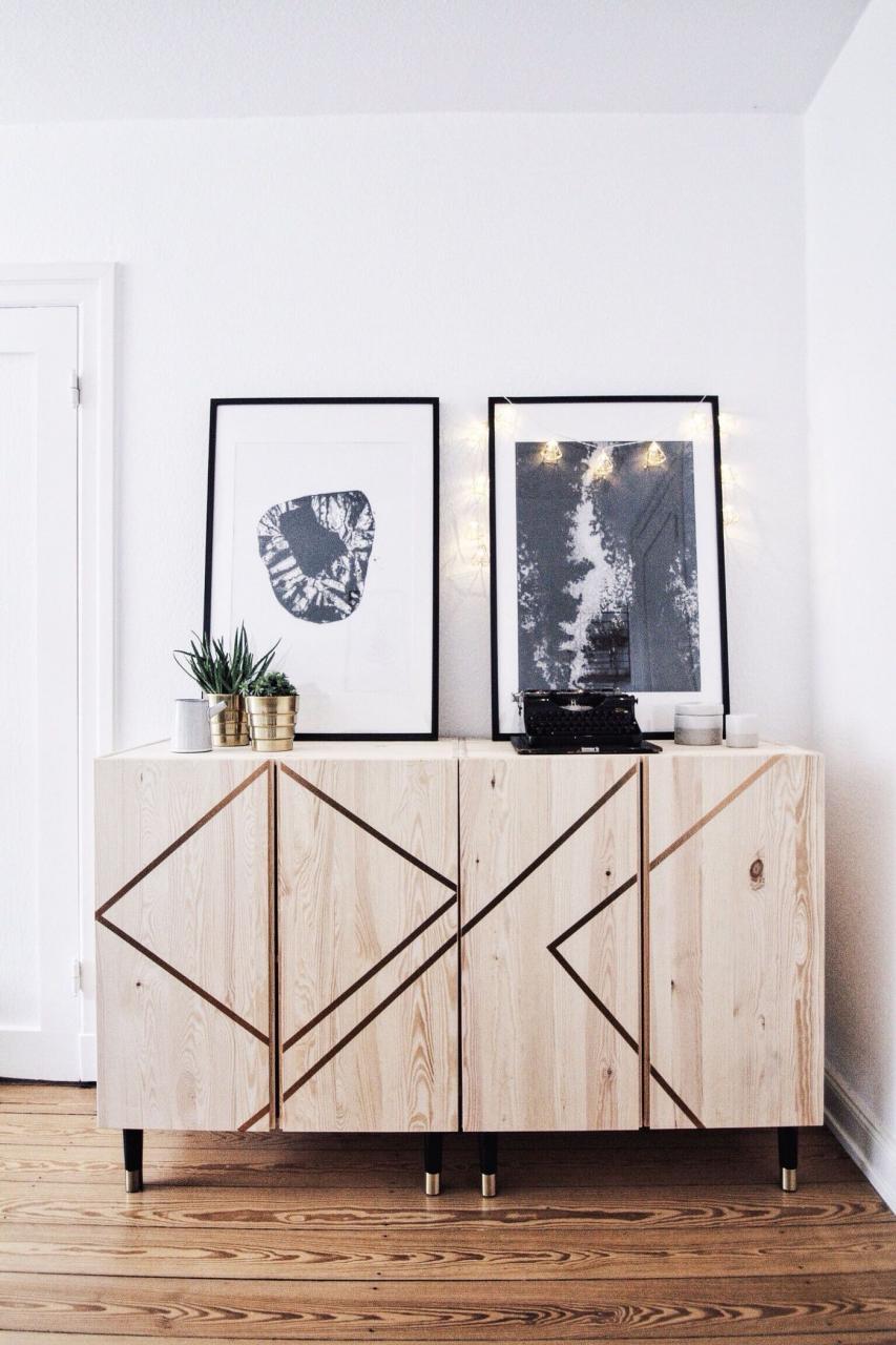 14 Awesome Storage Hacks using IKEA Cabinets - Rhythm of the