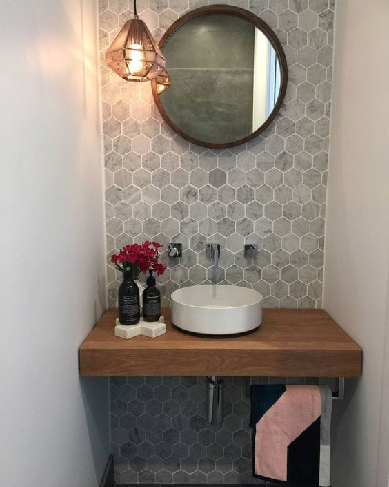 Neutral Colors For Small Powder Rooms: 51 Astonishing Powder Room Ideas