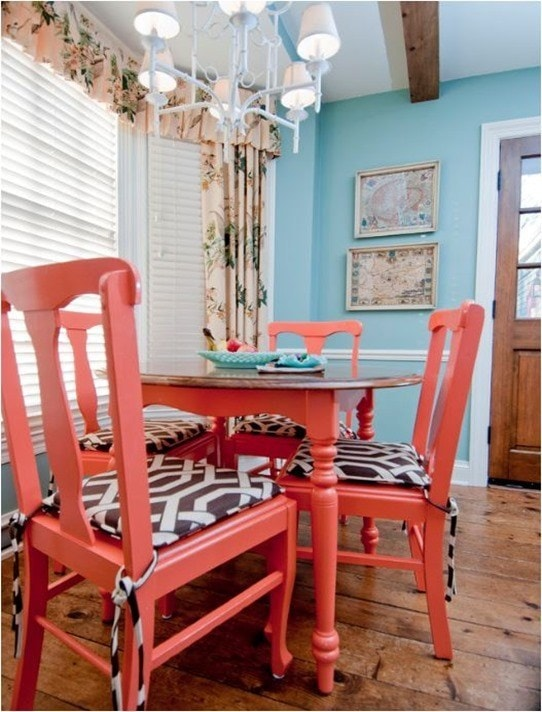 20 Eye Catching Ways To Decorate With Coral Rhythm Of The Home