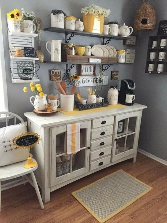 20 Refreshing Coffee Bar Ideas Rhythm Of The Home