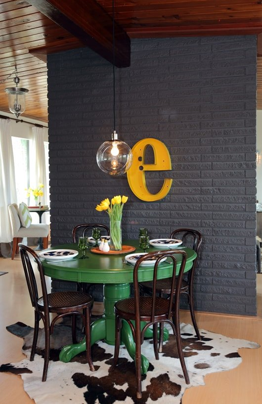 12 Colorful Dining Room Table Ideas, Colorful Dining Room Sets