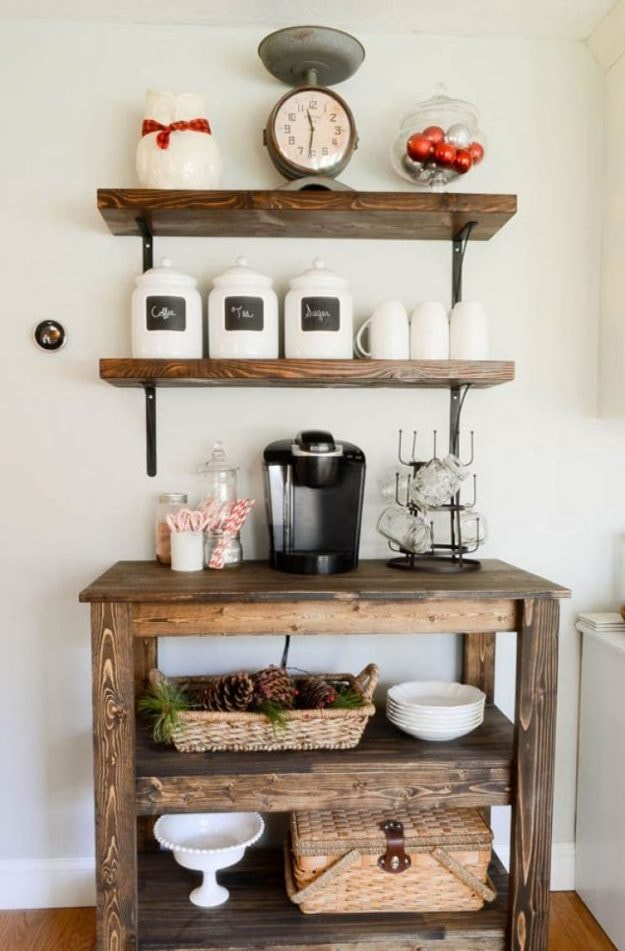 20 Refreshing Coffee Bar Ideas - Rhythm of the Home on s'more dessert ideas, kitchen library ideas, kitchen buffet ideas, kitchen cafe ideas, kitchen breakfast bar ideas, kitchen gifts ideas, kitchen alcohol bar ideas, kitchen lounge ideas, home coffee station ideas, building your own bar ideas, s'mores buffet ideas, brown kitchen cabinets ideas, kitchen bistro ideas, cocoa bar ideas, kitchen wine ideas, small bar ideas, bar top kitchen ideas, coffee house decor ideas, kitchen garden ideas, kitchen utensil drawer organizers,