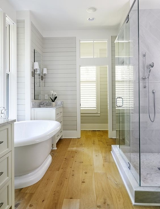 14 Wonderful Bathroom Flooring Options - Rhythm of the Home