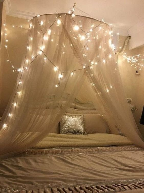 8 Inventive Ways To Decorate With String Fairy Lights