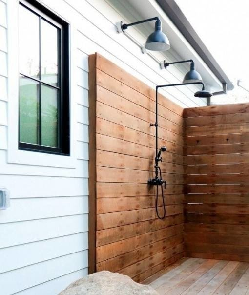 10 Refreshing Outdoor Shower Ideas and DIY Projects - Rhythm ... on beach house design, dining room house design, outdoor bath house design, bedroom house design, porch house design, laundry house design, gym house design, toilet house design, balcony house design, bathroom house design, outdoor dog house design, pool house design, construction house design, nice furniture house design, storage shed house design, outdoor bathroom, patio house design, outdoor kitchen designs,
