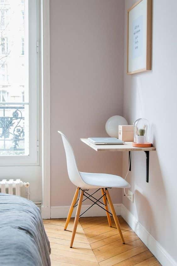 29 Best Desk Ideas for Small Spaces - Rhythm of the Home