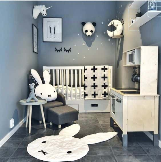 16 Cute Ideas For An Animal-Themed Nursery - Rhythm Of The Home